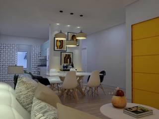 Jantar: Salas de jantar  por Guilherme Abreu Arquitetura