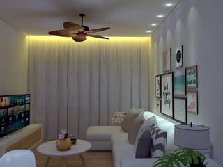 Home: Salas de estar  por Guilherme Abreu Arquitetura