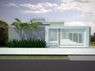 Residência NC Casas ecléticas por Guilherme Abreu Arquitetura Eclético
