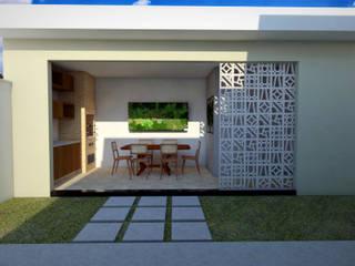 Residência NC Cozinhas modernas por Guilherme Abreu Arquitetura Moderno