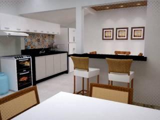 Reforma Cozinha/Lavanderia por Guilherme Abreu Arquitetura