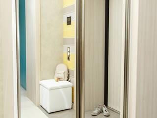Мягкий минимализм. Прихожая Коридор, прихожая и лестница в стиле минимализм от Guzel Gimaeva Interior Design Минимализм