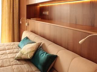 Мягкий минимализм. Спальня Спальня в стиле минимализм от Guzel Gimaeva Interior Design Минимализм