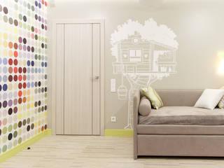 Мягкий минимализм. Детская Детская комнатa в стиле минимализм от Guzel Gimaeva Interior Design Минимализм