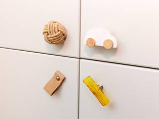 Stanza dei bambini minimalista di Guzel Gimaeva Interior Design Minimalista