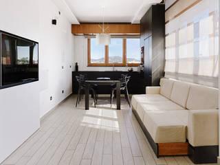 Casa G+M Soggiorno moderno di manuarino architettura design comunicazione Moderno
