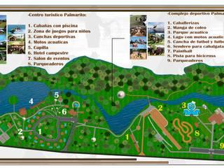 ARQUITECTO JUAN ANDRES GUTIERREZ PEREZ Country style garden
