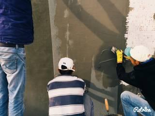 Remodelação Piscina Betão (EZARRI) / Concrete Pool Remodeling (EZARRI) por Paisagem Adequada LDA