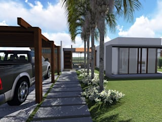 ARQUITECTO JUAN ANDRES GUTIERREZ PEREZ Country style house