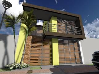 ARQUITECTO JUAN ANDRES GUTIERREZ PEREZ Minimalistische Häuser