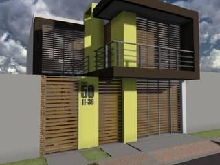 ARQUITECTO JUAN ANDRES GUTIERREZ PEREZ Minimalist house