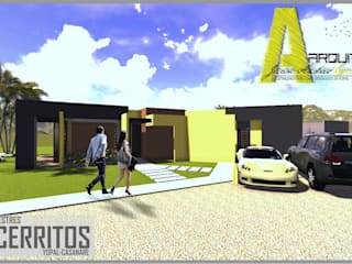 ARQUITECTO JUAN ANDRES GUTIERREZ PEREZ Moderne Häuser