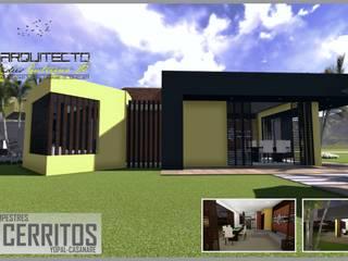 ARQUITECTO JUAN ANDRES GUTIERREZ PEREZ Modern home