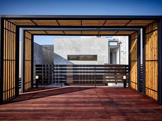 디자인사무실 Modern terrace