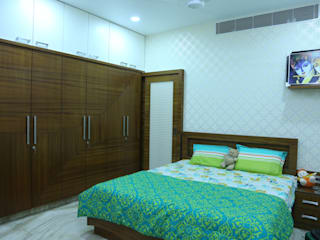 guest bedroom Modern style bedroom by Hasta architects Modern