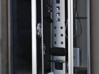 Cabinas de ducha Hidromasaje con Vapor y Ozono:  de estilo  por Picazzo Sanitarios