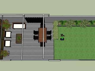 Proyecto de patio moderno: Jardines de estilo  de La Patioteca