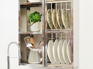 Small space storage van The Plate Rack Industrieel