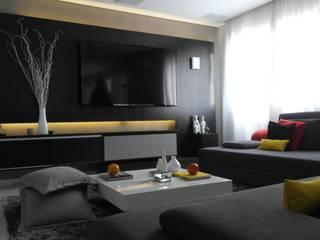 Apartamento Perdizes Salas de estar modernas por ALBA Construções Inteligentes Moderno