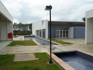 Auditório e anexo USP Lorena Centros de congressos modernos por ALBA Construções Inteligentes Moderno