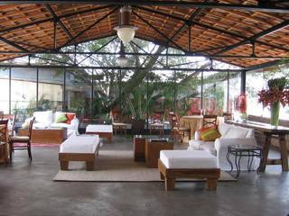 Show room Suxxar Lojas & Imóveis comerciais modernos por ALBA Construções Inteligentes Moderno