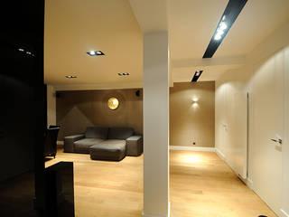Apartament Nowoczesny salon od we do design.pl Nowoczesny