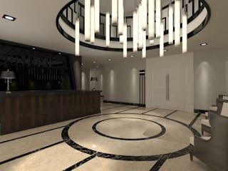 Salones de eventos de estilo moderno de Pıcco Desıgn & Archıtecture Moderno