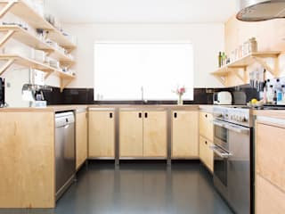Buckstone Cocinas de estilo industrial de Kobod Ltd Industrial