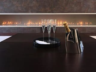 Commercial Fireplaces Modern hotels by The Platonic Fireplace Company Modern