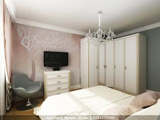 Classic style bedroom by Творческая мастерская Лузан Ирины Classic