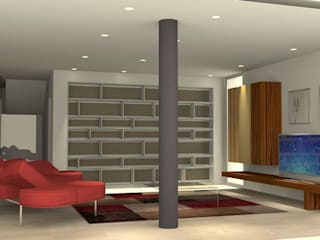 Minimalist living room by carlo tosin Minimalist