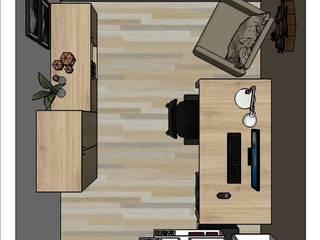 escritório residencial: Escritórios  por Atus - Arquitetura | Transformação | Urbanismo | Sustentabilidade