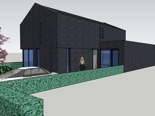 Impressie voorzijde:   door LAB_A architectuur