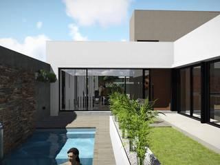 ARBOL Arquitectos Jardines de estilo moderno