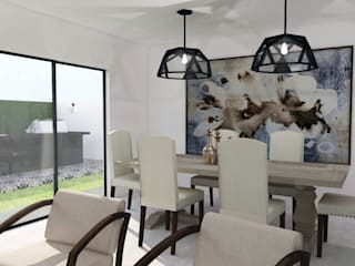 Dining room by TAMEN arquitectura