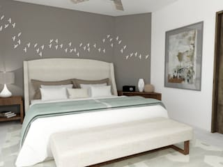 Bedroom by TAMEN arquitectura, Modern