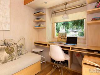 Ruang Studi/Kantor Minimalis Oleh Chibi Moku Minimalis
