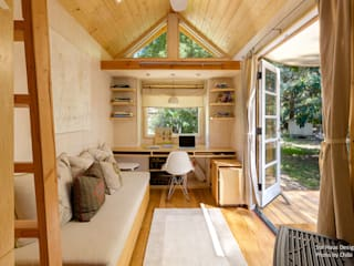 Chibi Moku Architectural Films Minimalist living room Engineered Wood Wood effect
