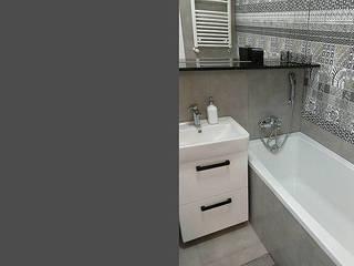 Łazienka w mieszkaniu.: styl , w kategorii Łazienka zaprojektowany przez Artur Grab Design