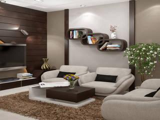 Impressive... Classic style living room by Premdas Krishna Classic