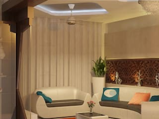 Classic style living room by Premdas Krishna Classic