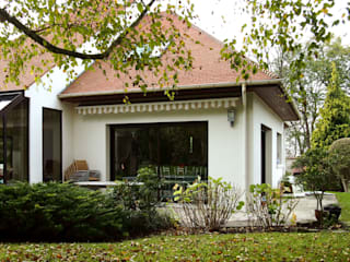Daniel architectes Modern houses