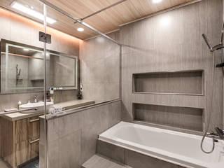 Baños de estilo moderno por 코원하우스