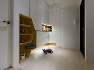 Scandinavian style bedroom by 藻雅室內設計 Scandinavian