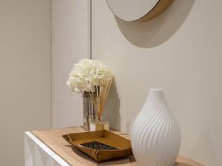 Modern Corridor, Hallway and Staircase by MUDA Home Design Modern