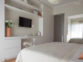 Modern Bedroom by MUDA Home Design Modern