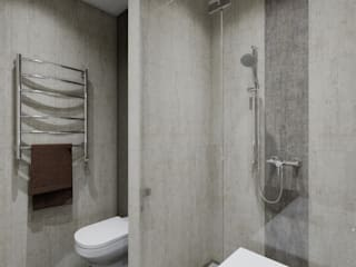 AlexLadanova interior design Minimalist style bathroom