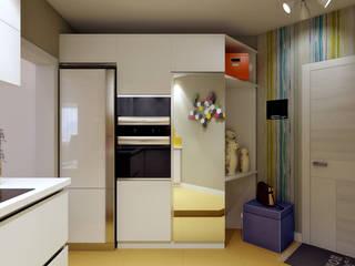AlexLadanova interior design Modern Kitchen