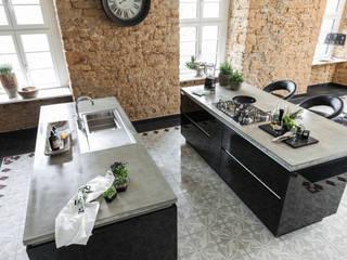 Hightech in alten Gemäuern Moderne Küchen von Planungsgruppe Korb GmbH Architekten & Ingenieure Modern