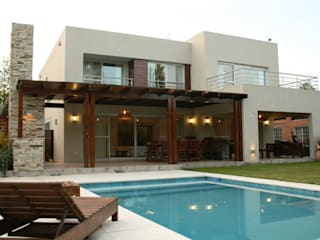Modern Houses by Rocha & Figueroa Bunge arquitectos Modern